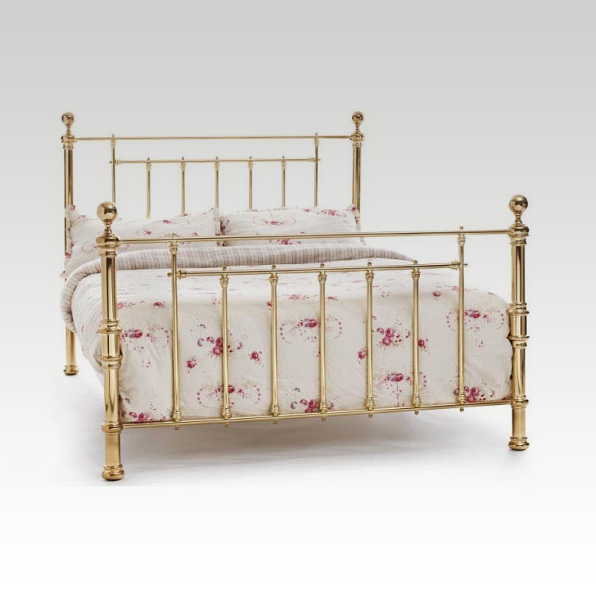 Super King Size Brass Bed Frame