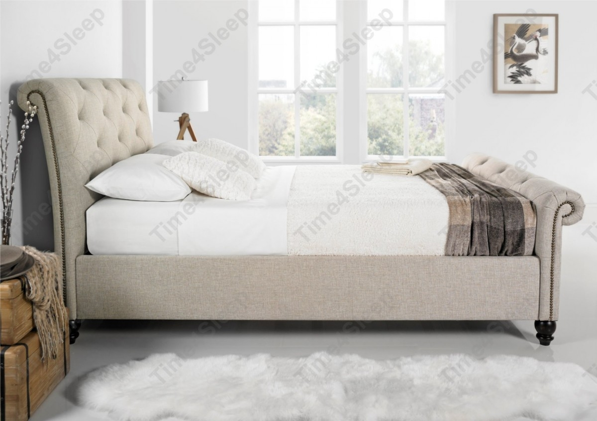 Super King Size Sleigh Bed Frame