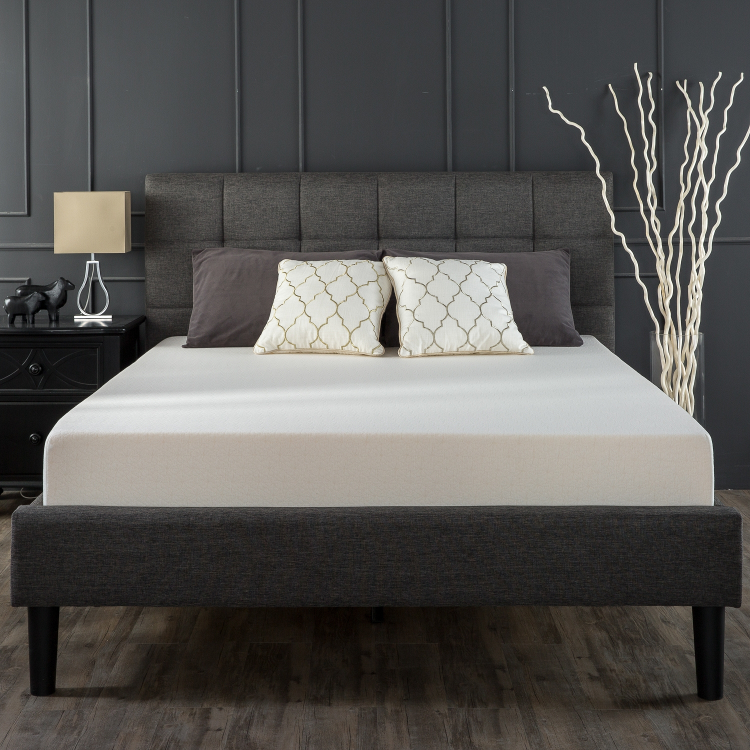 Twin Bed Frame No Boxspring Required