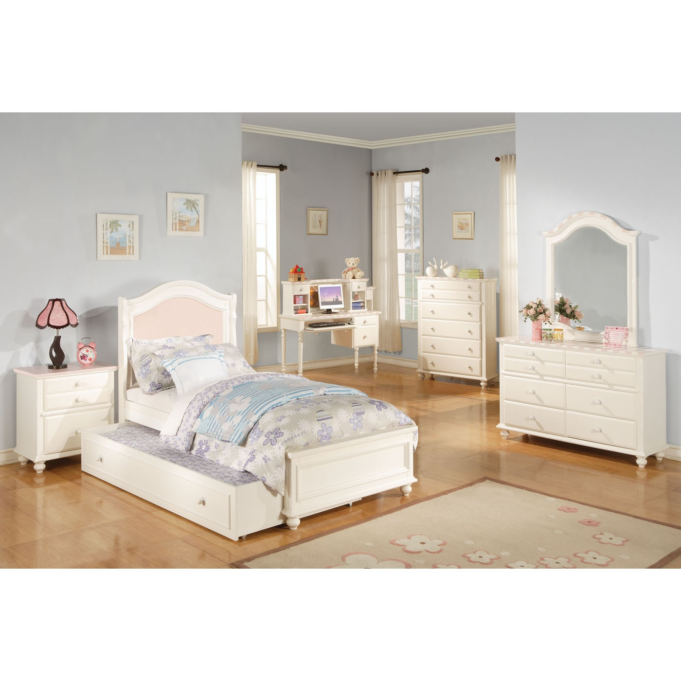 Twin Size Bed Frame For Headboard And Footboard