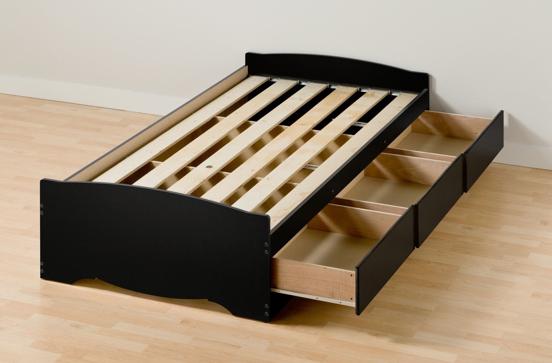 Twin Xl Bed Frame Solid Wood