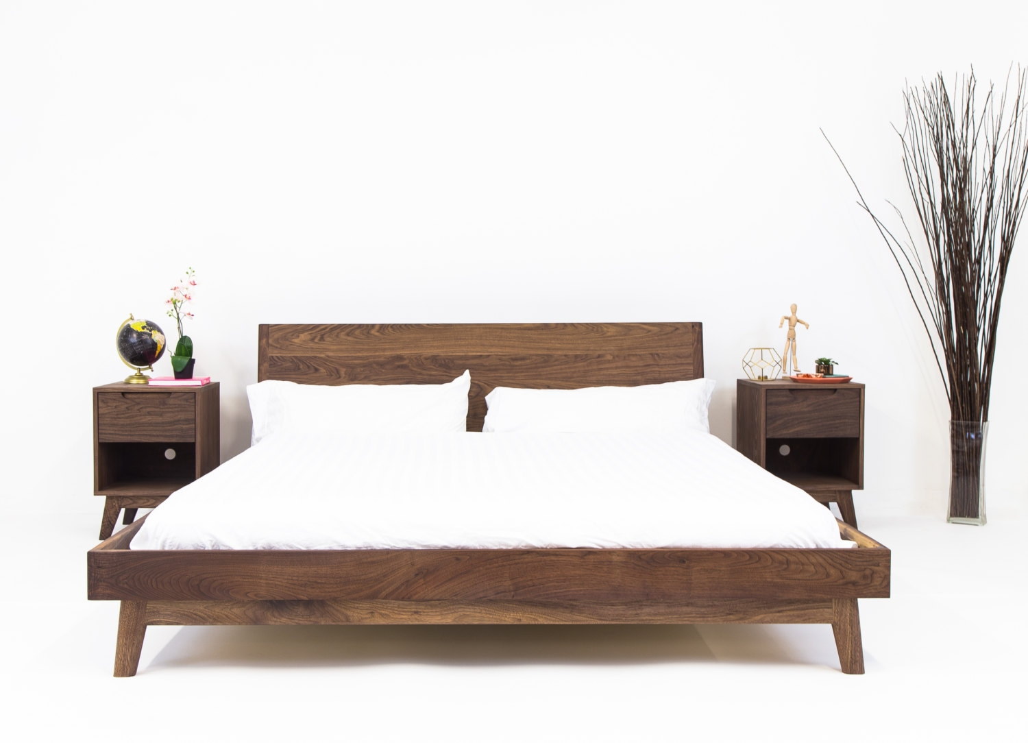 Walnut Bed Frame King