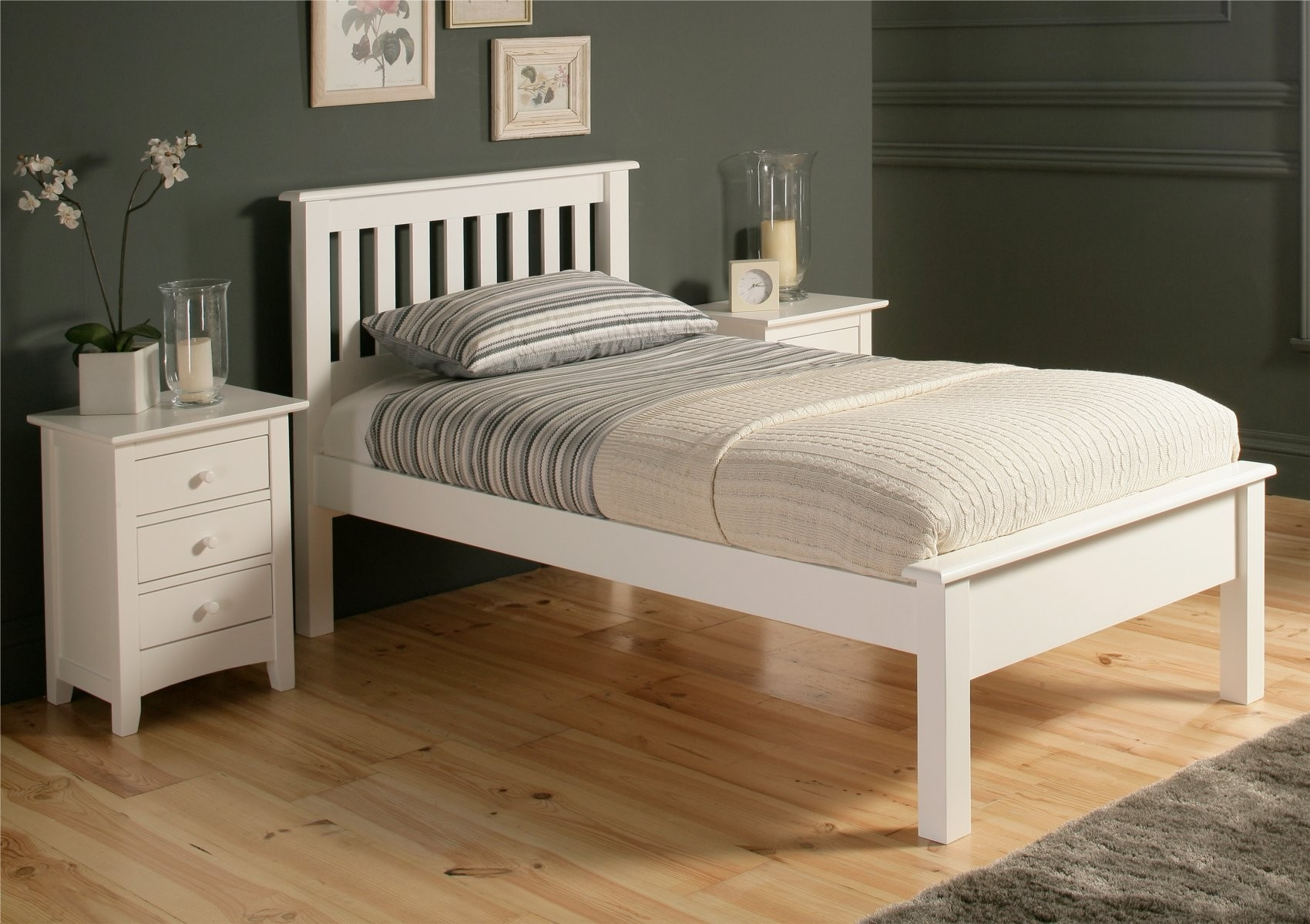 Permalink to White Bed Frame Single