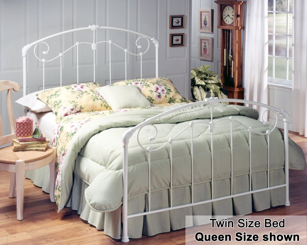 White Wire Bed Frame