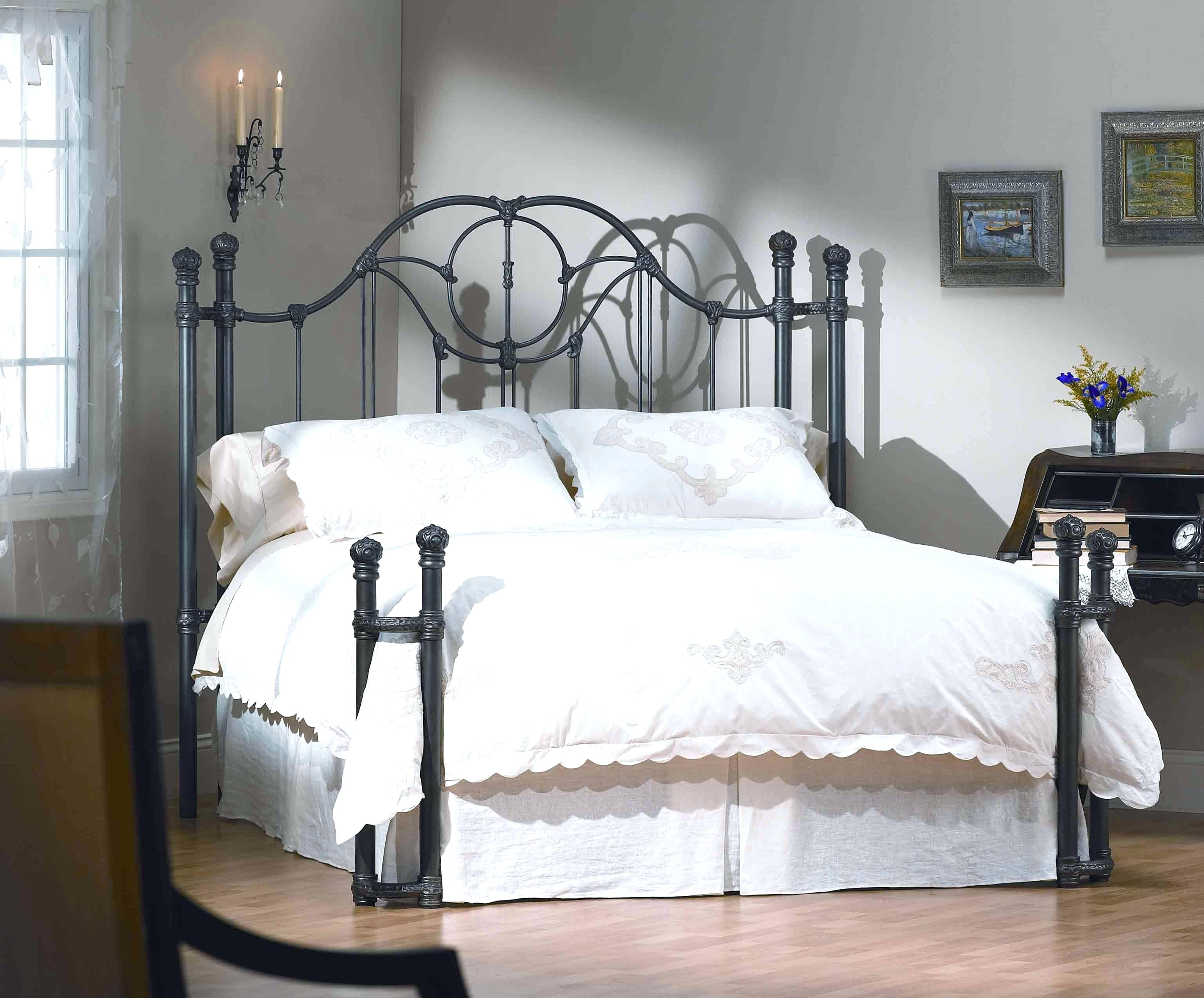 Wrought Iron Bed Frame King