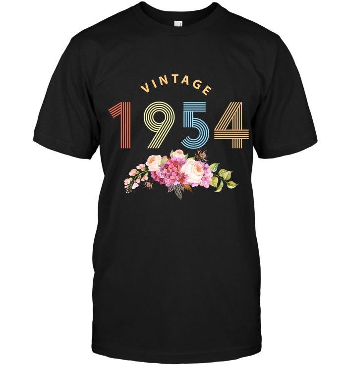 1954 Vintage Flower Shirt