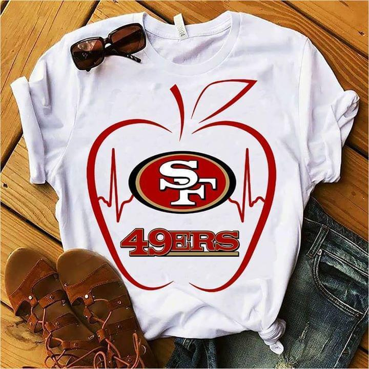 Apple San Francisco 49ers For 49ers Fan T Shirt