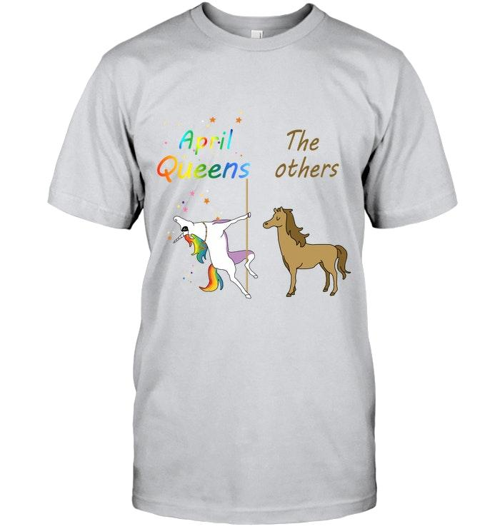 April Queens Unicorn The Others Horse White T Shirt