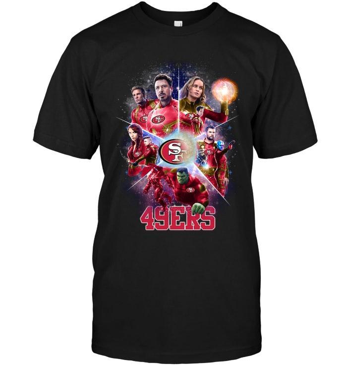 Avengers Endgame San Francisco 49ers Shirt