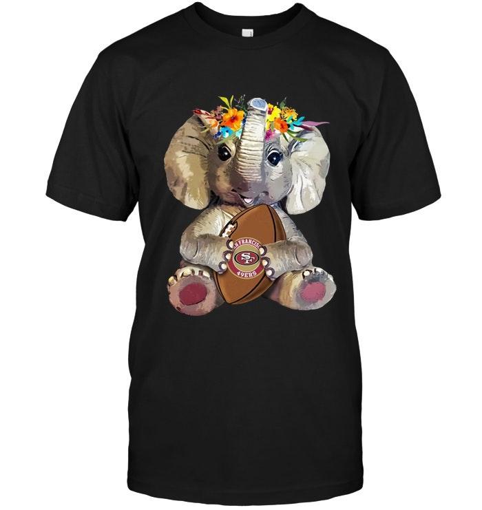 Elephant Loves San Francisco 49ers Shirt