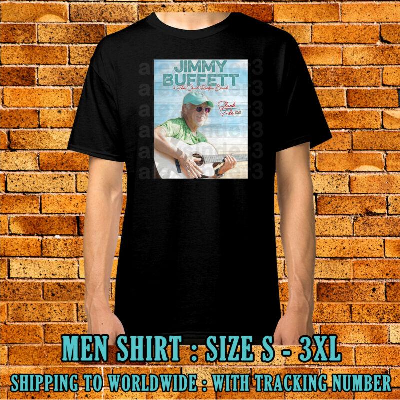 Jimmy Buffett Tour 2020 Men Women Kids Black Shirt Size S-3XL Sinder Free