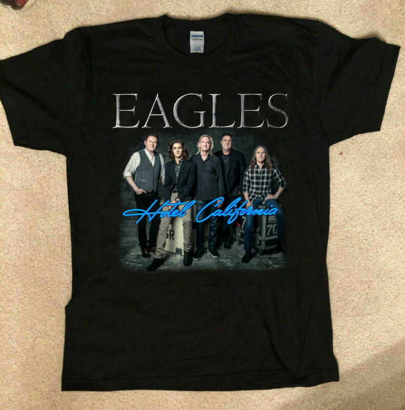 The Eagles Hotel California Tour 2020 T-shirt Size S to XL