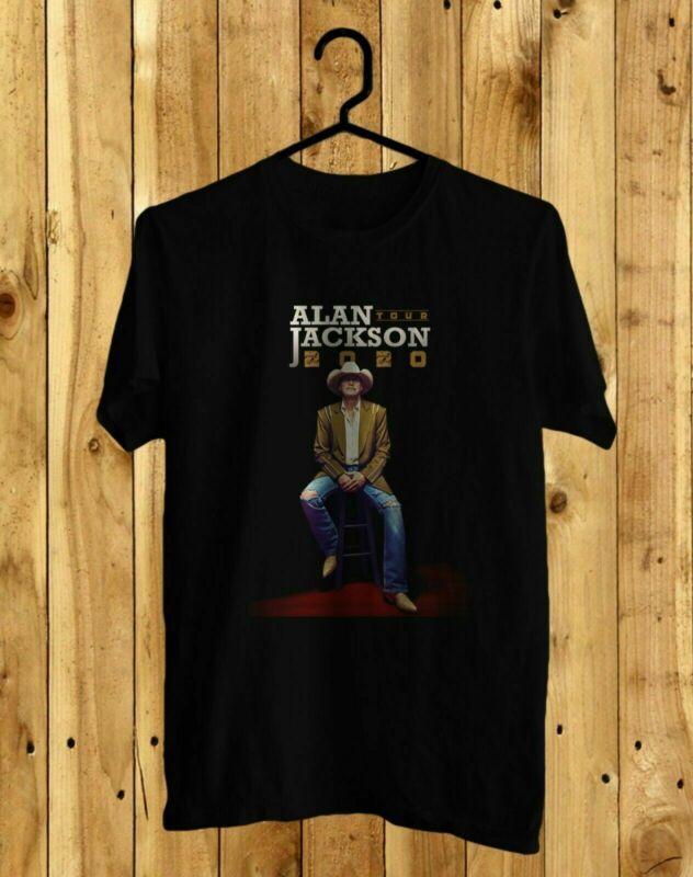 Get This Alan Jackson The Tour 2020 Black Or White Front Tee S-2XL