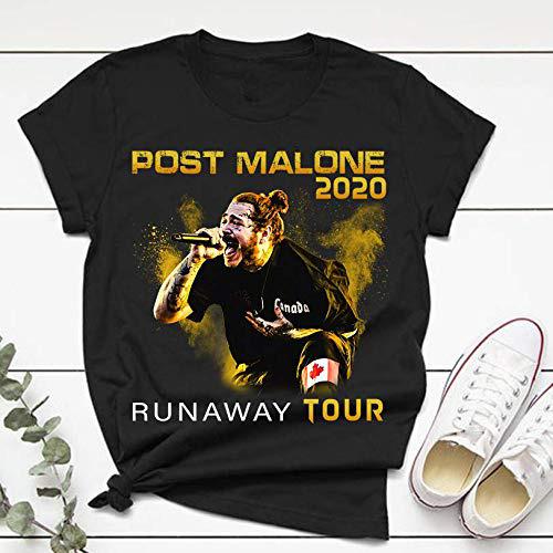 Post Runaway Tour 2020 Malone Hiphop T-Shirt Malone Rapper Unisex S-234XL G1415