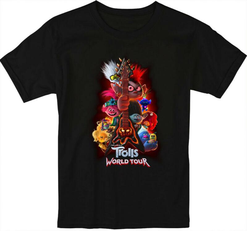 New Trolls World Tour Poster Movie 2020 T Shirt S-5XL Men and Women