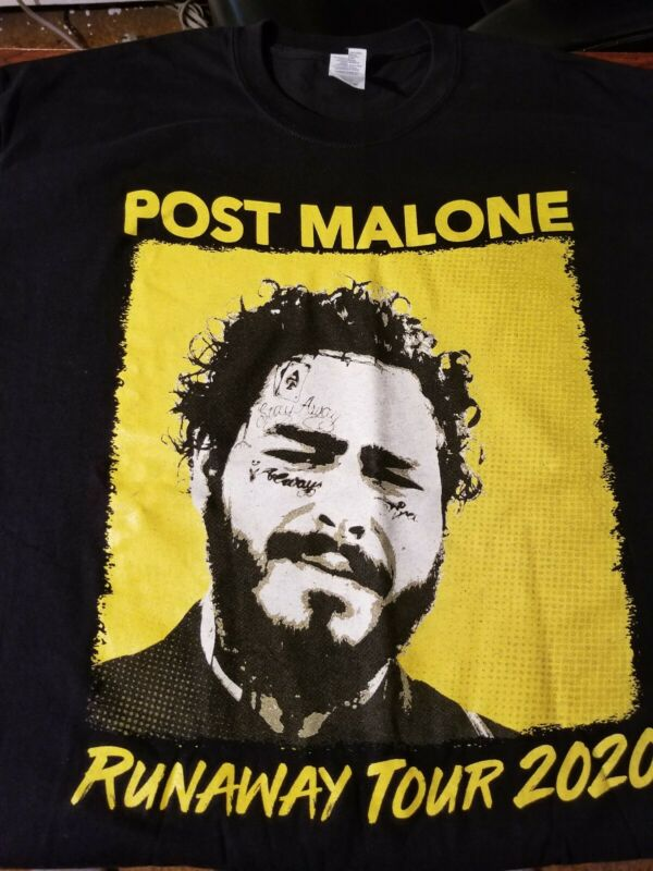 Post Malone 2020 tour shirt available in sizes S