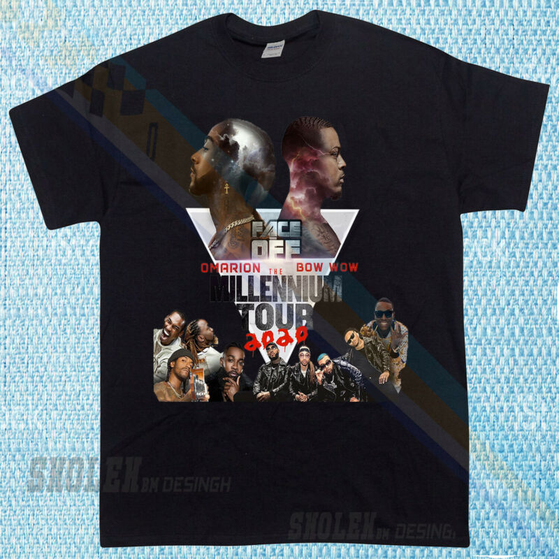 New Popular B2k Tour Rare Hip Hop Omarrion 2020 Limited T-shirt