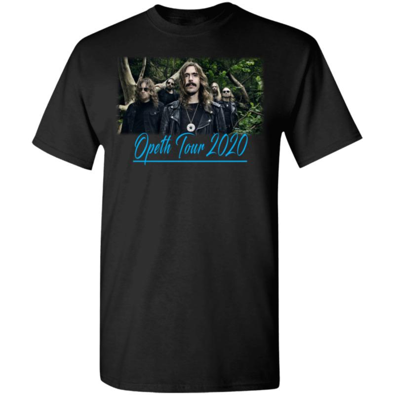 Opeth Tour Dates 2019-2020 Vintage T-Shirt MEN Black S-5XL