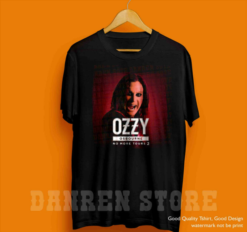new-Ozzy-Osbourne T-shirt live no more tours 2 concert 2020 Music Shirt Unisex