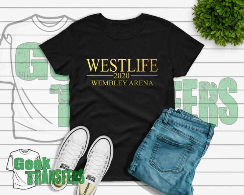 Westlife Wembly 2020 T-shirt tour UK seller free postage Shane Kian Mark