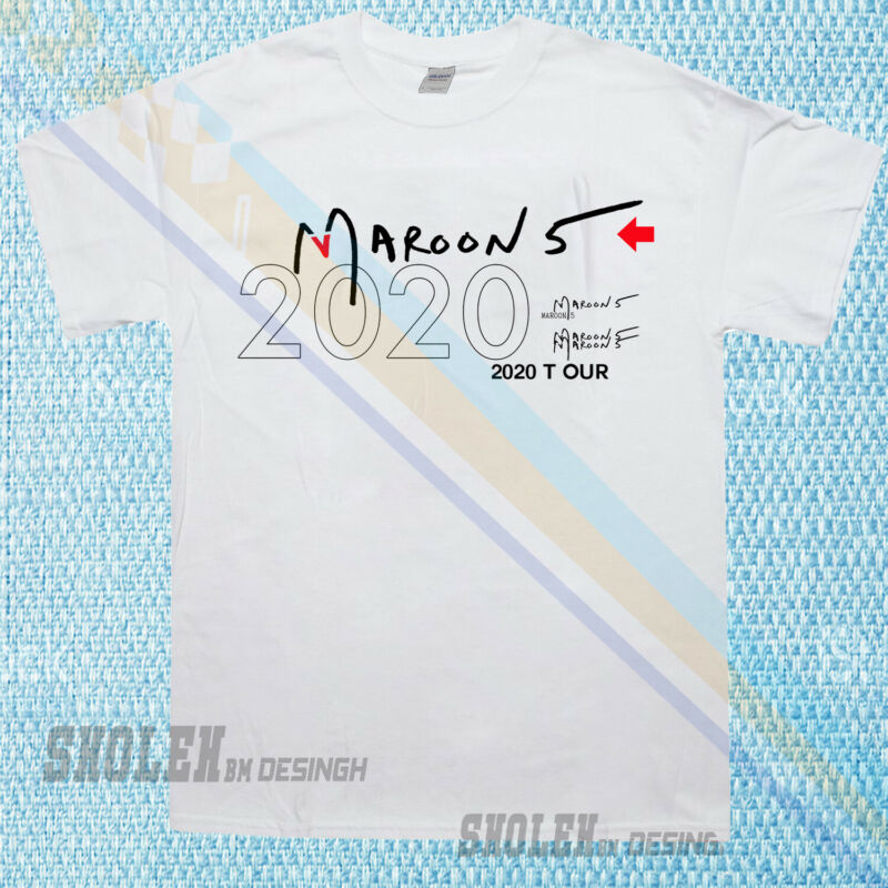 Irmliar0 T-shirt Music Tour Concert Maroon 5 D 2020 All Size