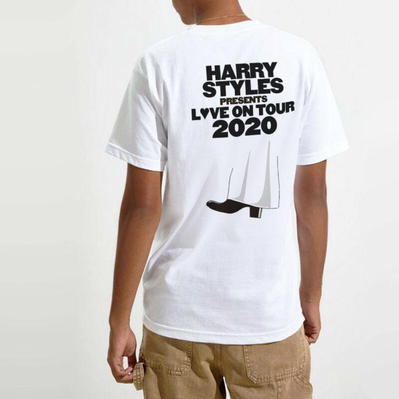 Style Love Tour T Shirt Fine Lines Music 2020 Direction Top Unisex Harry Lit Tee