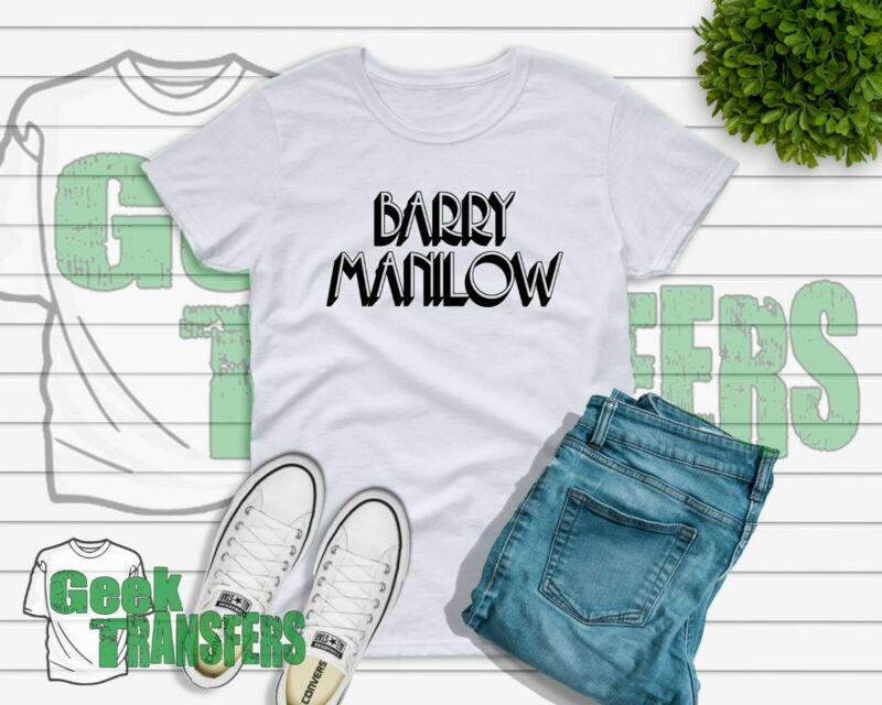 Barry Manilow T-shirt kids adults ladies UK seller free post gift Tour 2020