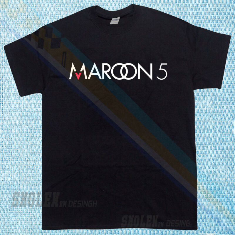 New Popular Maroon 5 Logo North American tour Rare 2020 Limited Edition T-Shirt