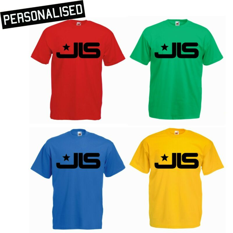 Personalised JLS Logo Red Green Blue Yellow Kids Adults Tour 2020 S-3XL T-Shirts