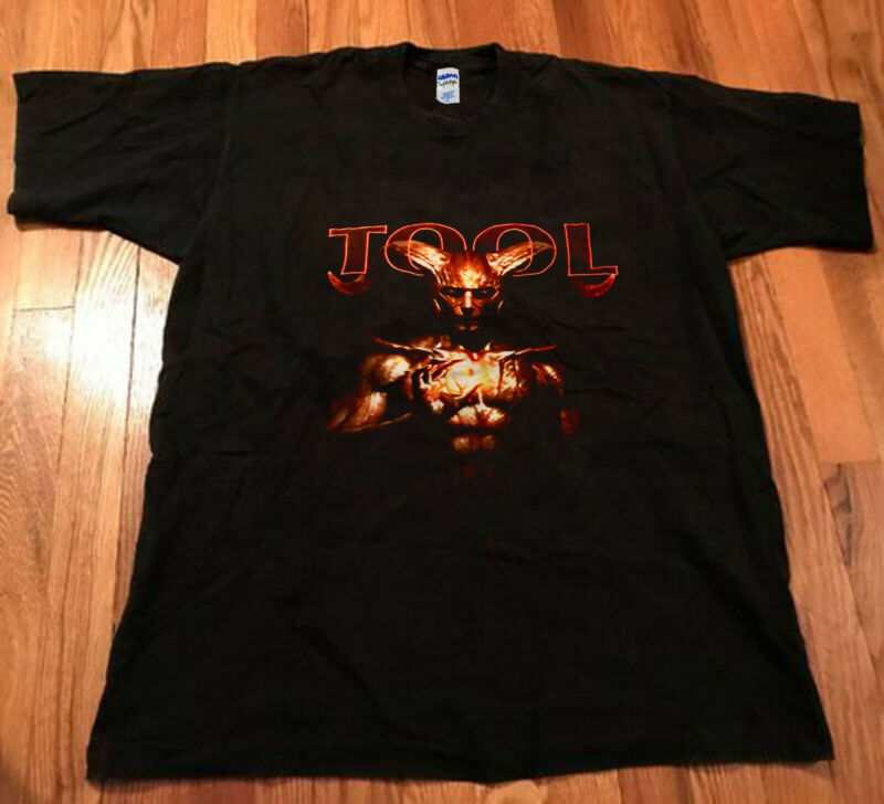 NEW!! TOOL 2020 USA Tour 2020 Memphis TN Authentic Shirt Black Reprint