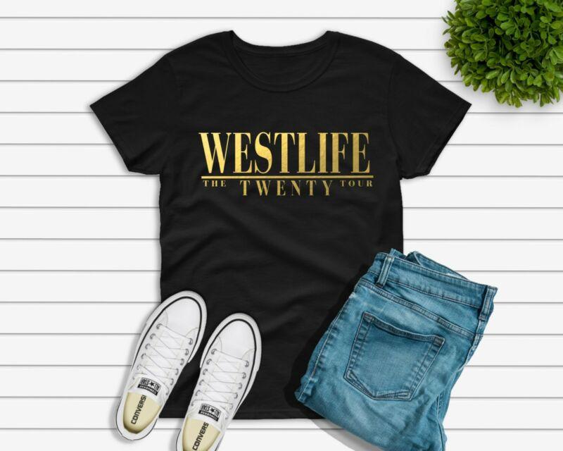 Westlife reunion TOUR T-shirt adults ladies Kian Shane 2020 UK seller free post