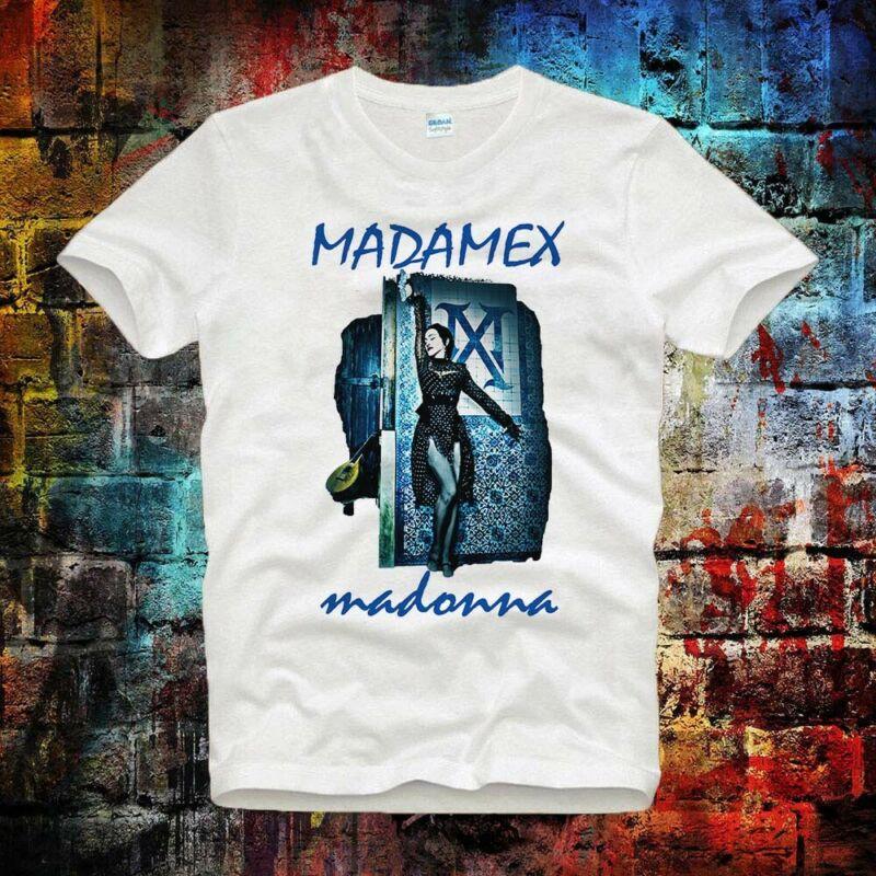 Madonna Madame X 2020 Music Tour tee top Unisex -Ladies Tee T Shirt B711