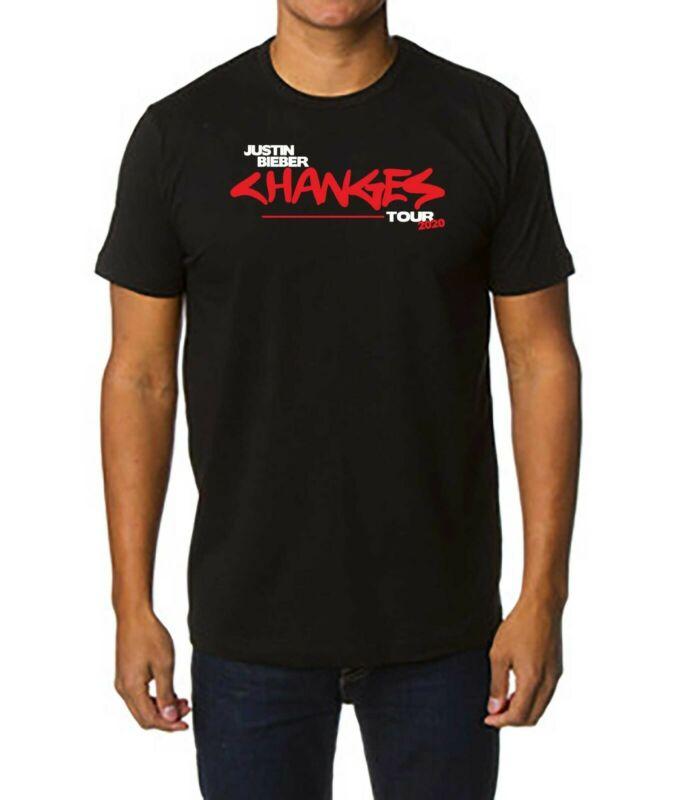 Justin Bieber Changes Tour T-Shirt 2020 Clothing T Shirt