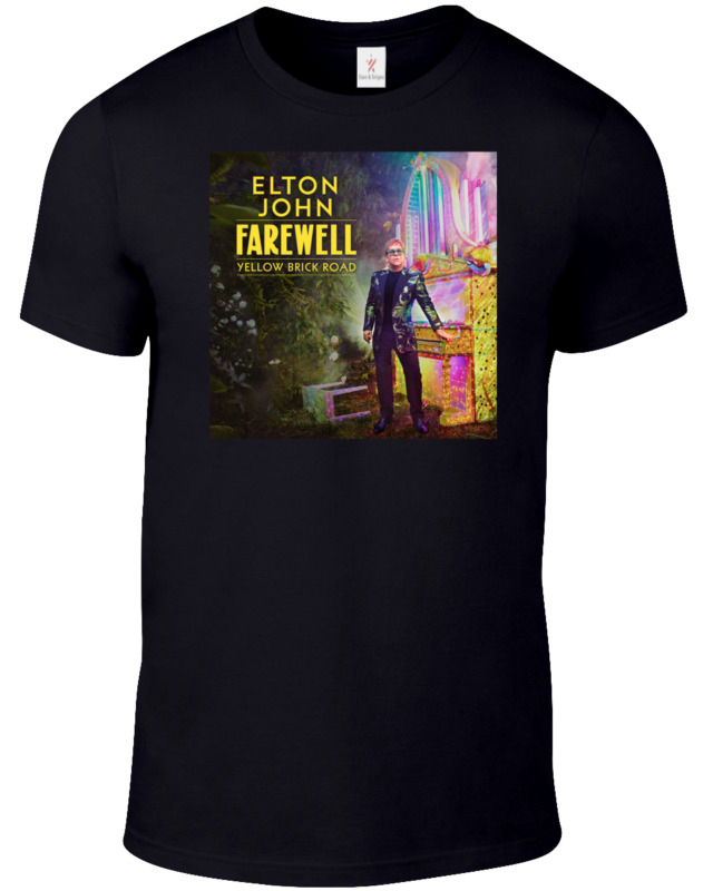 ELTON JOHN Farewell Tour 2020 T Shirt Music Concert PopStar Tee Plus Sizes S-5XL