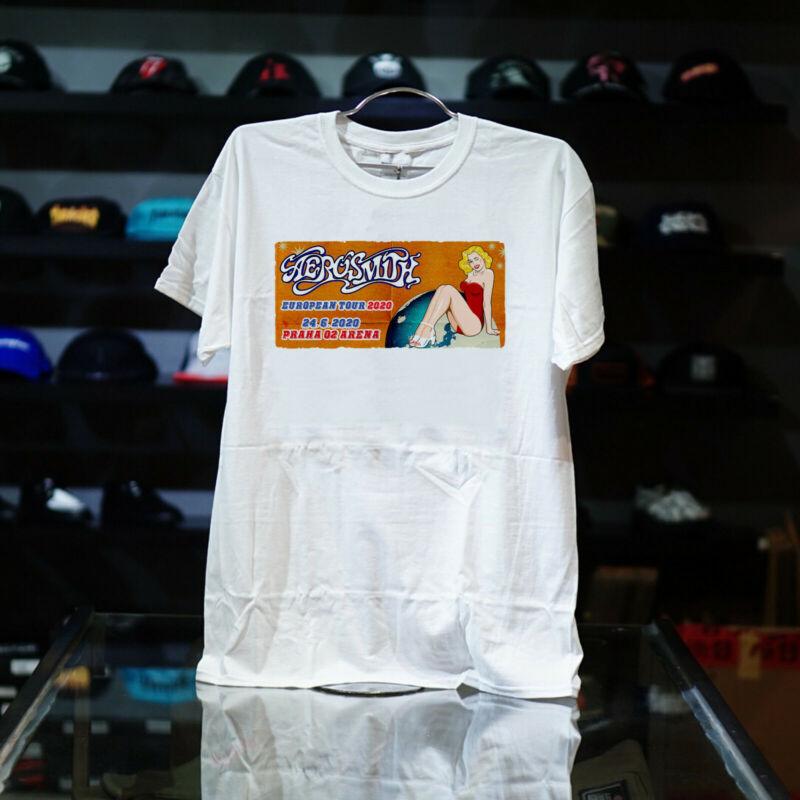 Aerosmith Europe Tour 2020 White T Shirt American All Size S - 5xl Nice Good