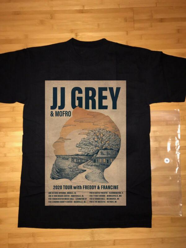 New JJ Grey & Mofro 2020 Tour With Freddy & Francine Jan & Feb 2020 Shirt Gildan