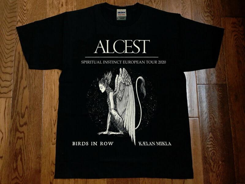 alcest spiritual instinct european tour 2020 gildan new t shirt