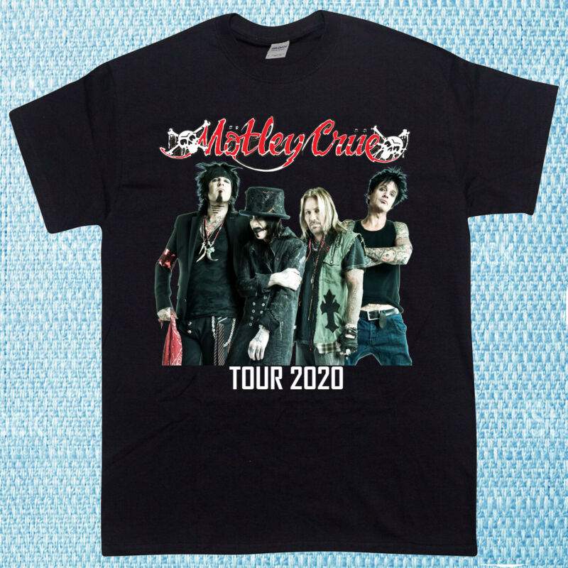 New Limited Inspired By Motley Crue Tour Rare 2020 Hip Hop Unisex T-Shirt S-5XL