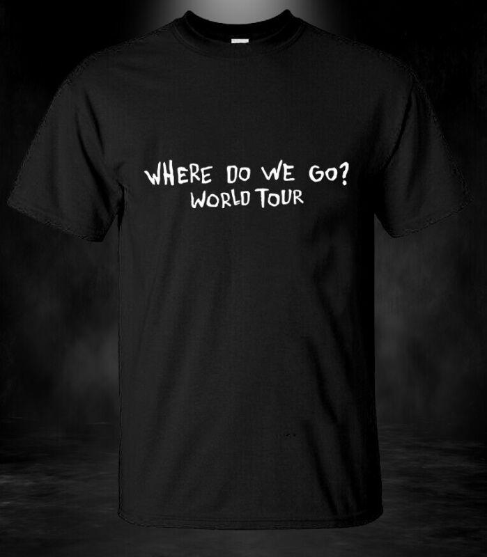 New Arrival !! Where Do We Go? World Tour 2020 Billie Eilish Gildan T-Shirt