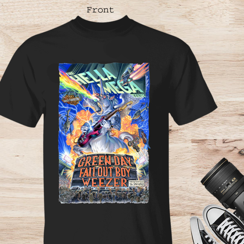 New The Hella Mega World Tour 2020 Concert Front Side Only Unisex T-Shirt S-3XL