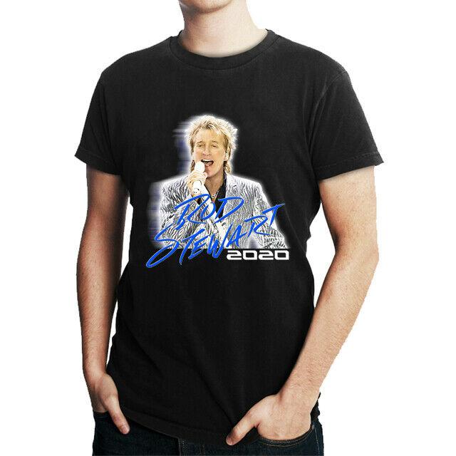 Rod Stewart Tour 2020 Tshirt New Men T-Shirt Tee Size S to 3XL