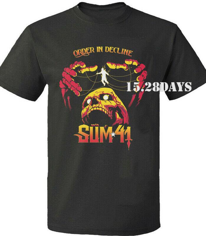 SUM 41 Order In Decline World Tour 2020 T-shirt. Concert shirt. BNWT GILDAN