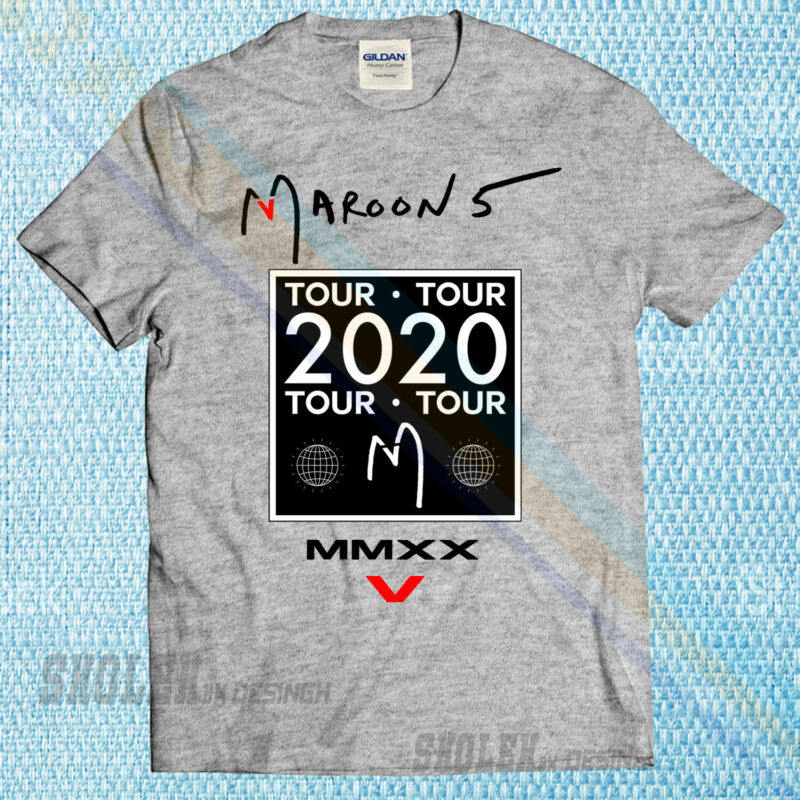 New Popular T-shirt Maroon 5 Tour Rare 2020 Limited Edition T-shirt