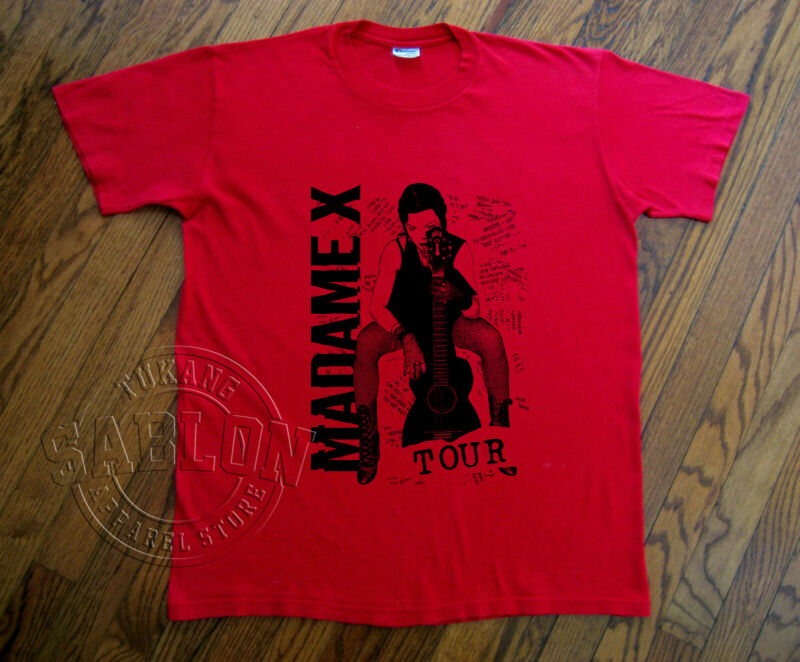 MADONNA MADAME X TOUR 2019 - 2020 T Shirt concert NEW album S-5XL HOT NEW!!!