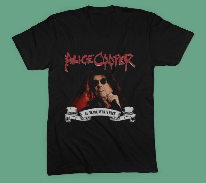 New ALICE COOPER Tour 2020 Gildan T-Shirt Size S - XXL
