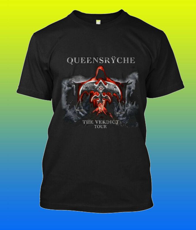 GILDAN T-shirt Queensryche The Verdict Tour 2020 Size S - 2XL
