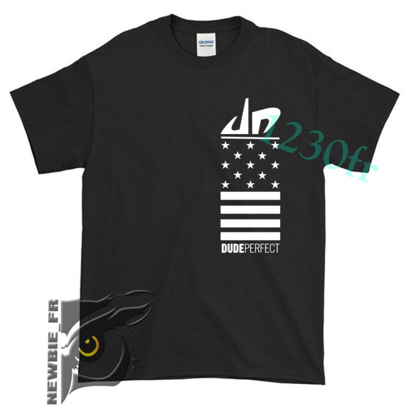 New Dude Perfect DP Tour 2020 Logo YouTube T SHIRT USA Size S - 2XL #095