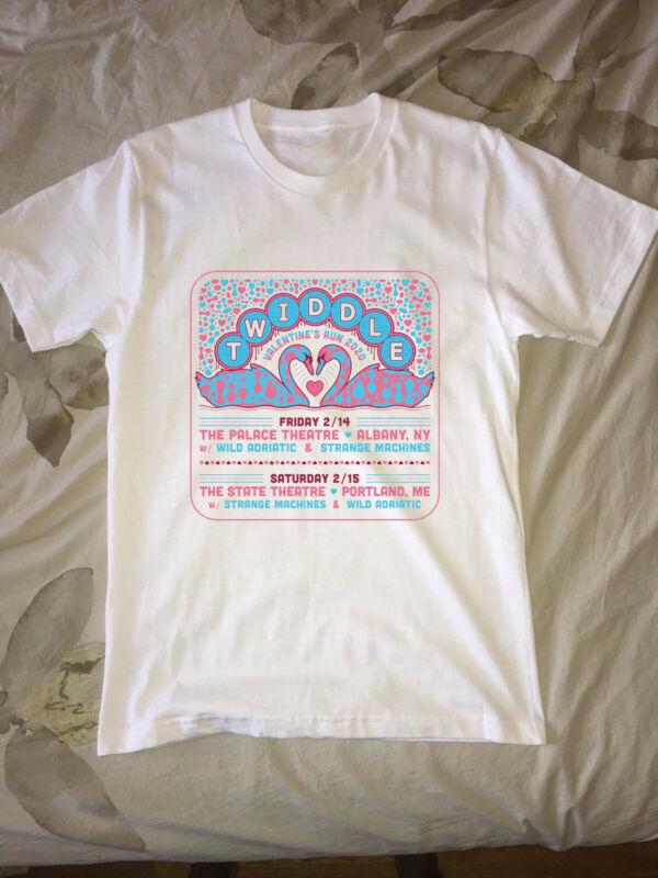 Twiddle Add Valentine?s Run to Winter Tour T shirt 2020