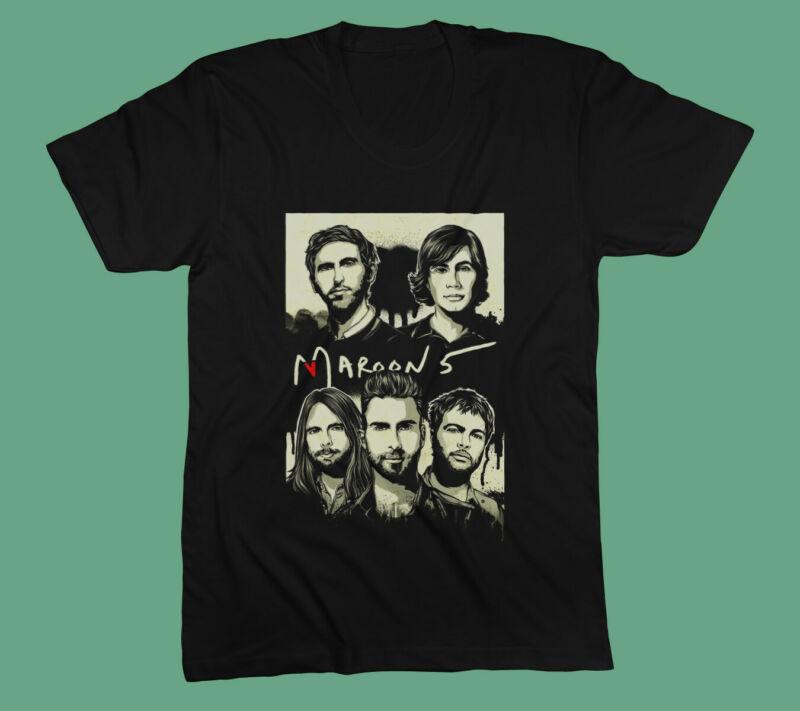 MAROON 5 New T-Shirt Tour 2020 Concert Tee Gildan Size S to 3XL
