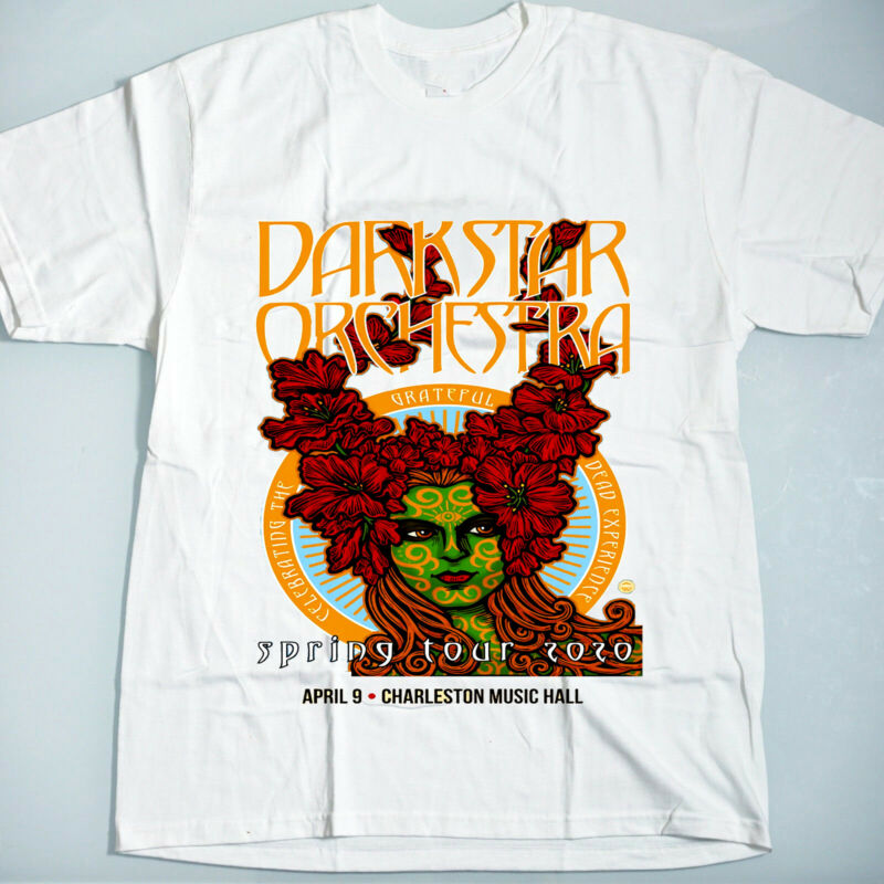 dark star orchestra april 9  2020 spring tour charleston music hall new t shirt /dark-star-orchestra-april-9-2020-spring-tour-312906983526.html